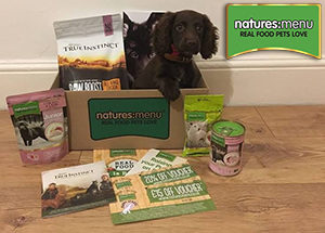 natures menu welcome box